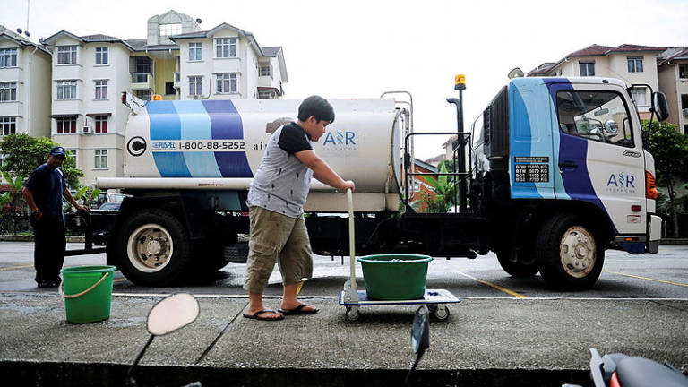 Water disruption at 57 areas in Gombak