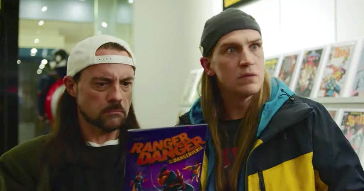 Kevin Smith and Jason Mewes take on Hollywood in Jay and Silent Bob Reboot trailer