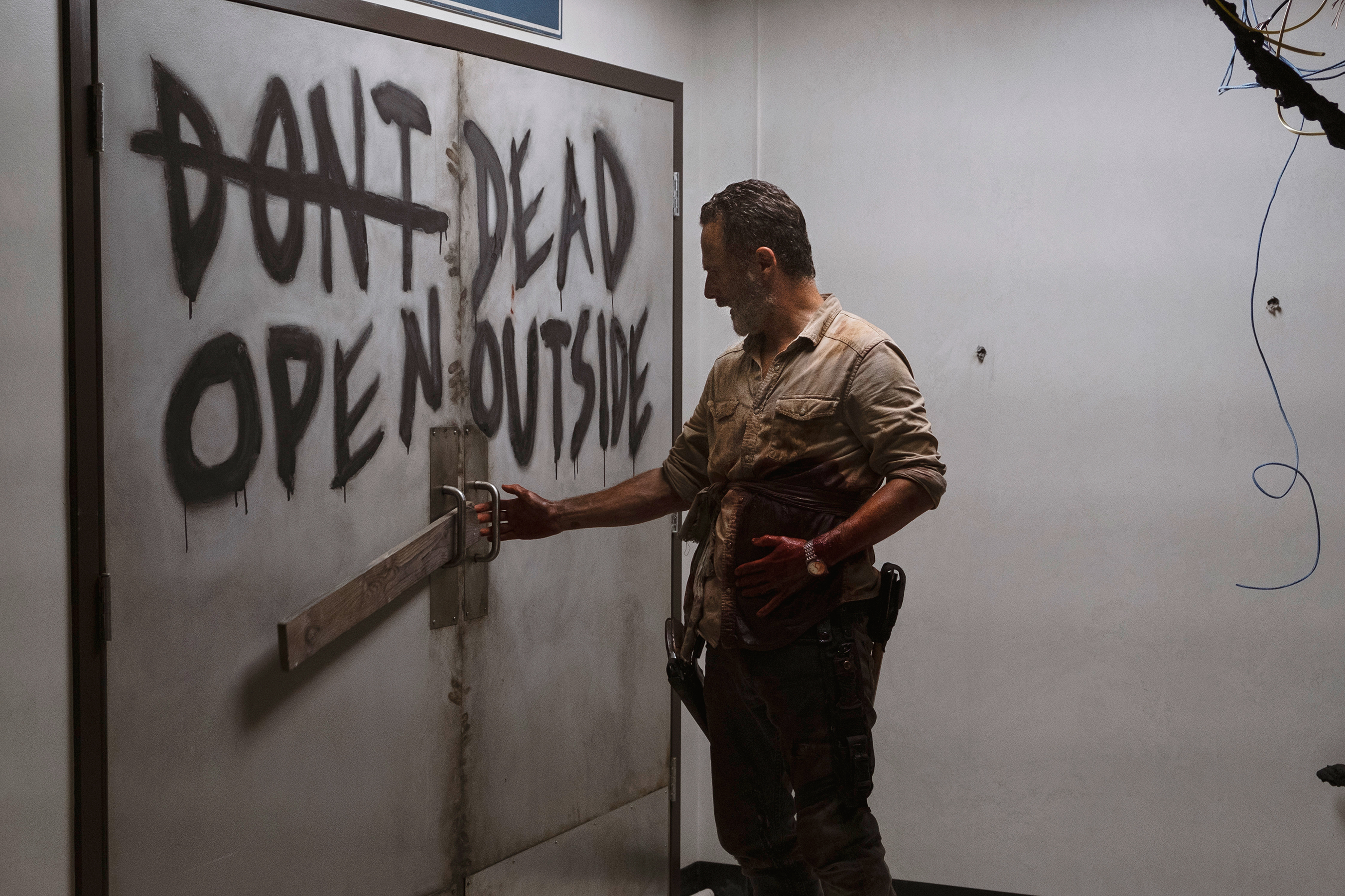 Rick Grimes The Walking Dead movie coming to theaters