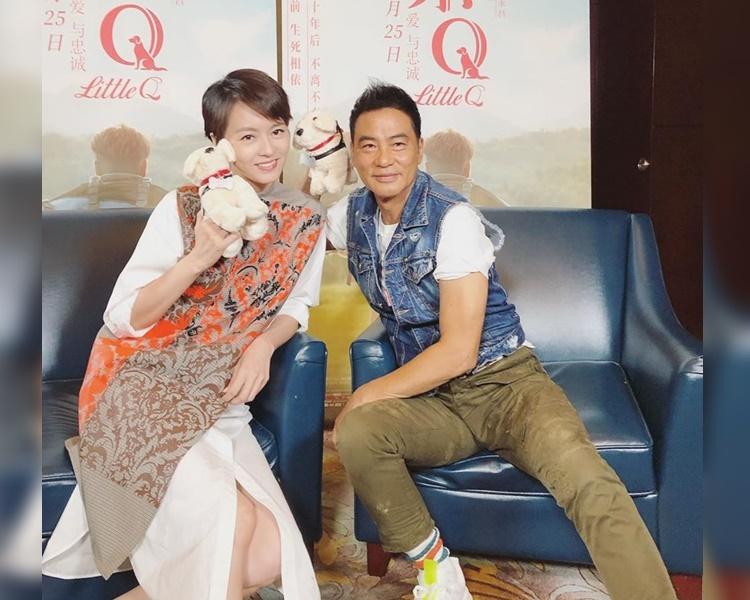【任达华遇袭】昨日一起北京宣传电影 梁咏琪震惊又担心