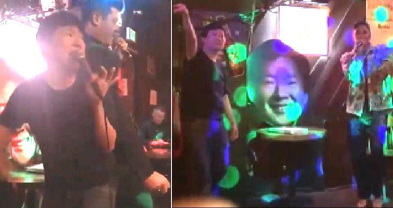 Ken Jeong Had an EPIC Karaoke Night Singing With Robin Thicke