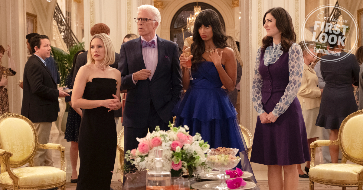 The Good Place season 4 is going 'to new places' ... maybe even the real Good Place