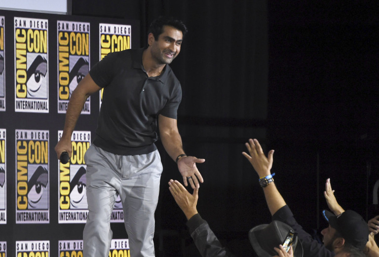 Check out all the stars at Marvel's huge Comic-Con 2019 panel