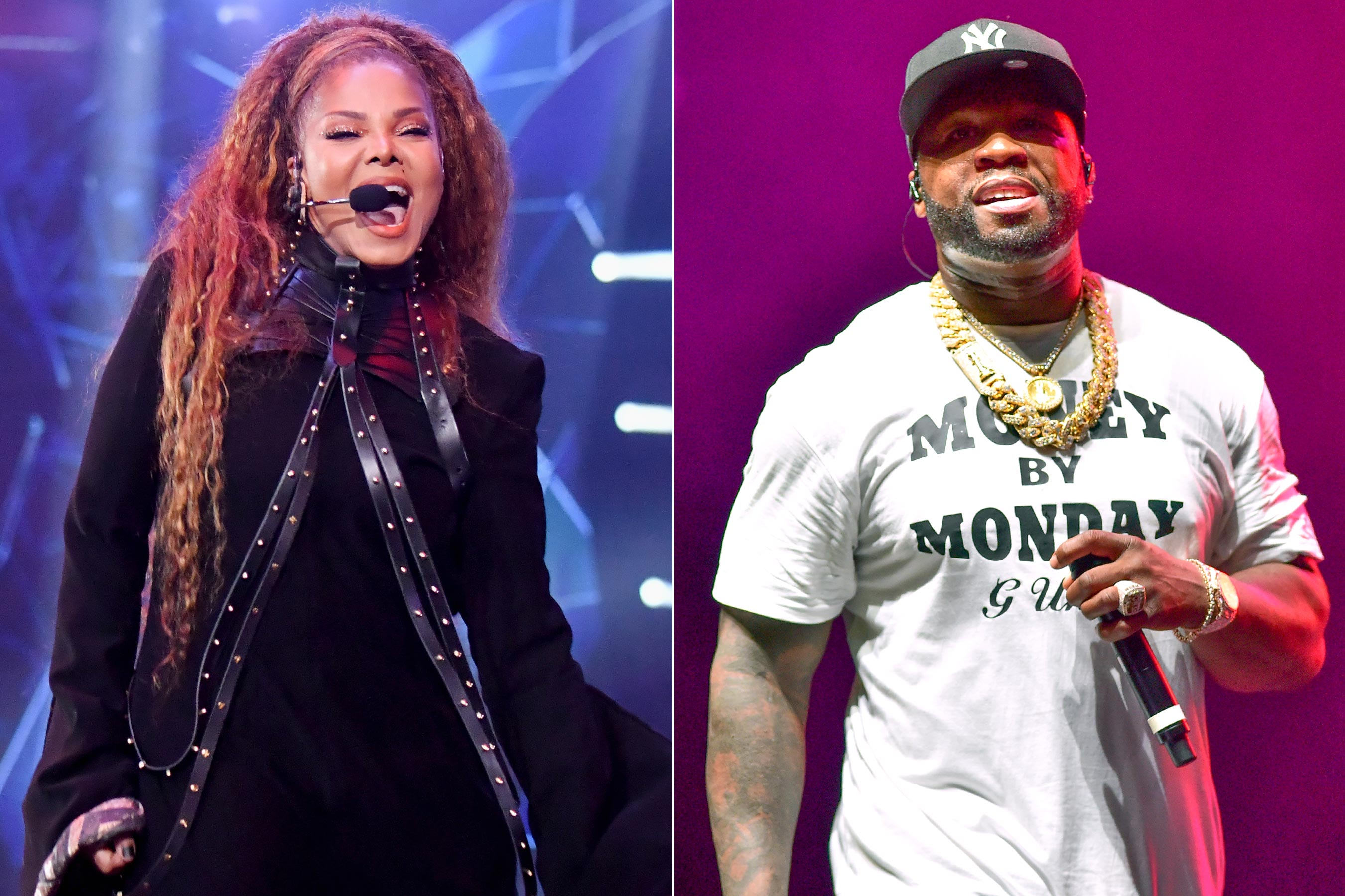 Janet Jackson and 50 Cent to perform at Saudi Arabia concert boycotted by activists