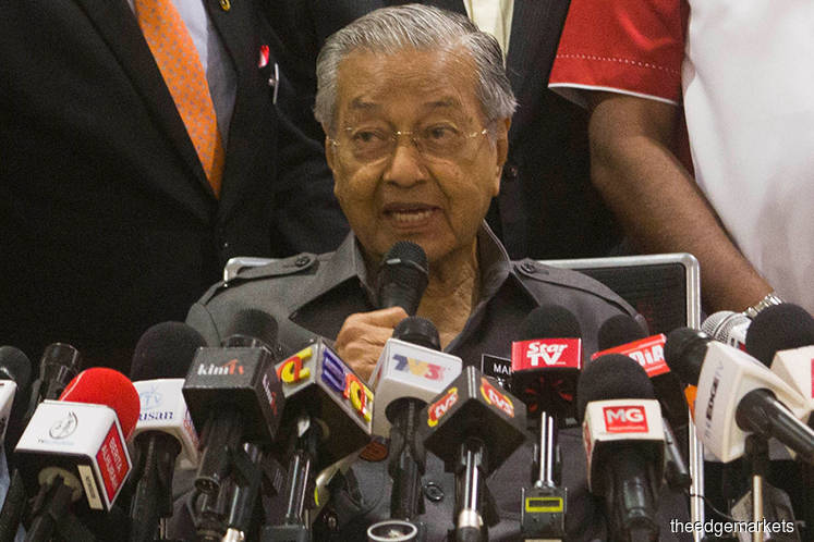 Everyone is free to make suggestions — Dr Mahathir