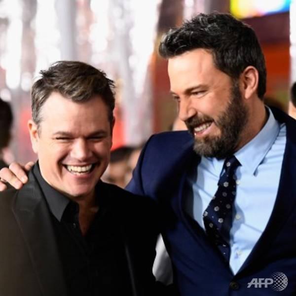Ben Affleck and Matt Damon reunite on film 20 years after Good Will Hunting