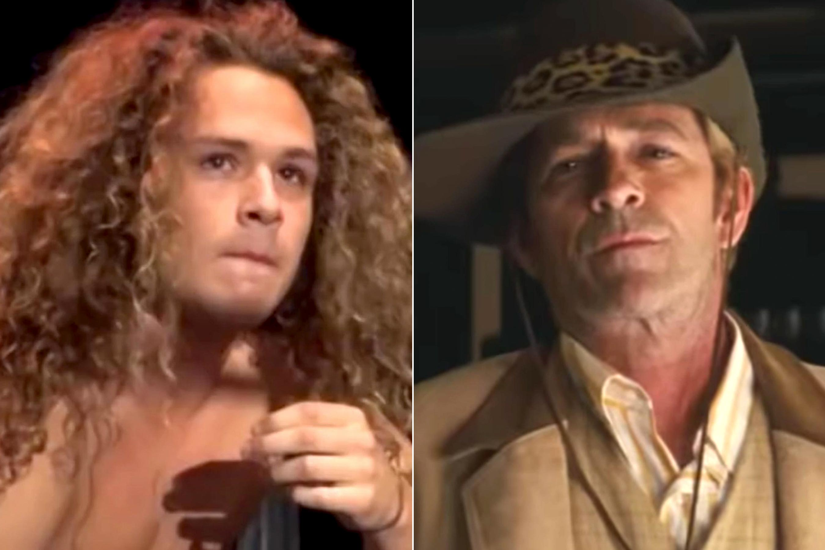 Luke Perry's son posts loving tribute atop billboard for dad's final role in 'Once Upon a Time in Hollywood'