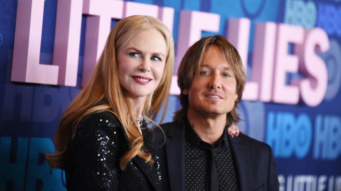 Keith Urban Wore a Big Little Lies Sweater for Nicole Kidman & Laura Dern Had the Best Reaction