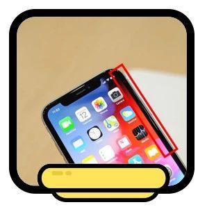 问:为啥手机屏幕都有一圈去不掉的黑边?