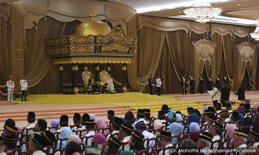 No prominent lawmakers on Agong's honours list