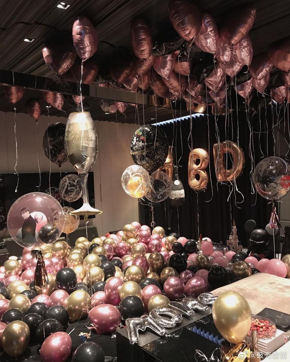 罗志祥40岁生日表白女友,并公开两人合照,周扬青的回复好甜!
