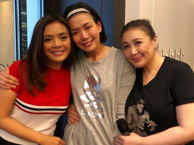 Sharon Cuneta appeared on GMA-7 show to surprise Rhea Santos