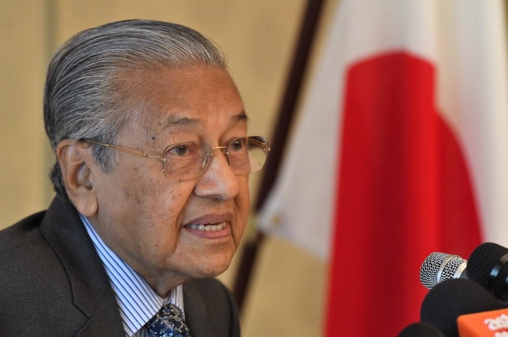 Dr Mahathir to discuss samurai bonds during Kyoto visit