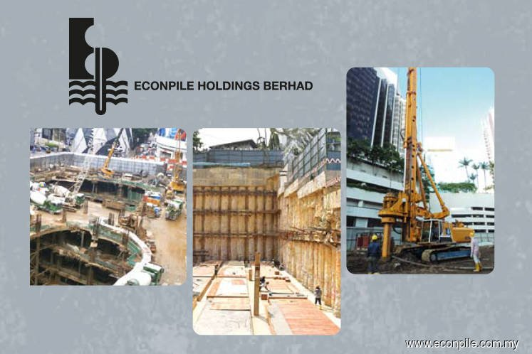 Econpile secures RM20.8 mil contract