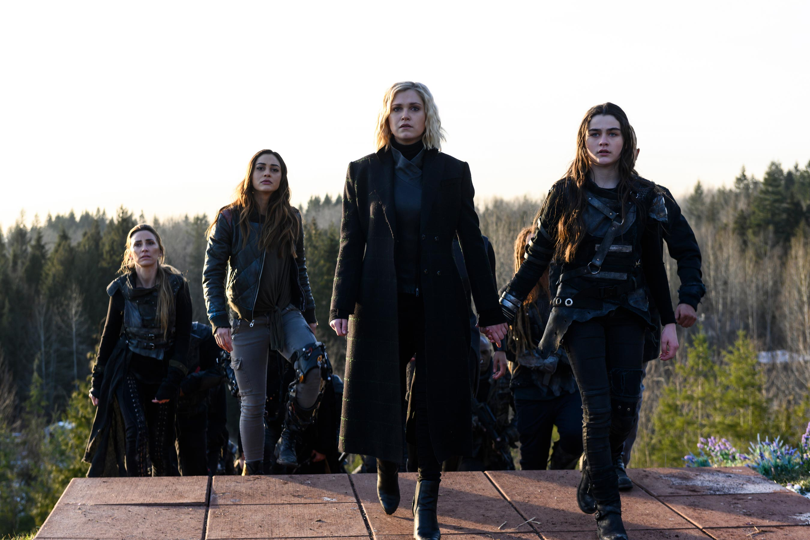 The 100 finale recap: The end and the beginning