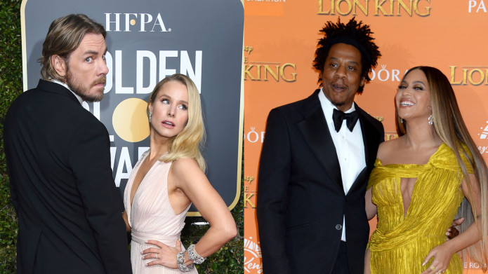 Kristen Bell & Dax Shepard Embarrassing Themselves in Front of Jay-Z & Beyonce Is So Relatable