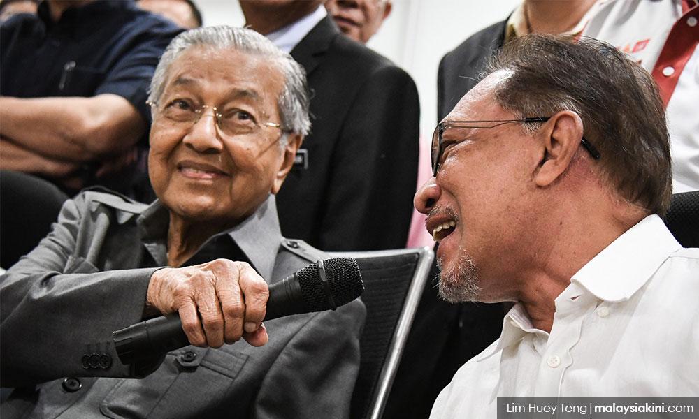 """拉玛沙米问马哈迪,""""没空缺论""""是什么意思?"""
