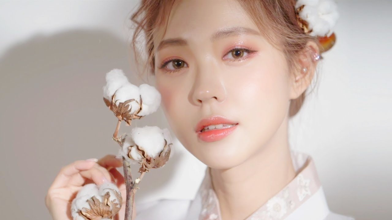 [中字] HEIZLE - Feminine Hanbok Makeup 女人味妆容   甜美韩服妆容