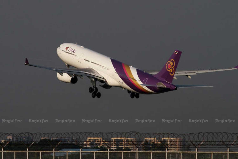Typhoon affects some Thai Airways Japan flights