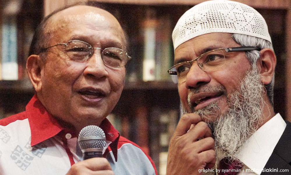 Rais questions why Zakir Naik has PR