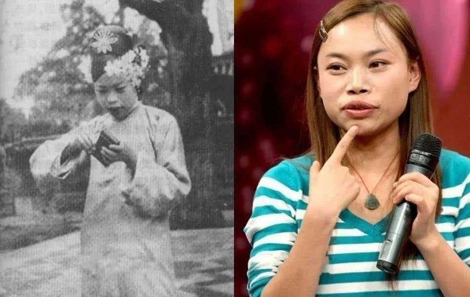 与历史名人撞脸的明星,赵雅芝凤姐还好,看到范冰冰:转世重生?