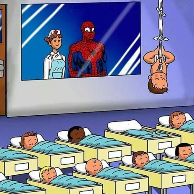 当漫威英雄的孩子住进婴儿房,小钢铁侠天赋初现,死侍儿子最闹腾