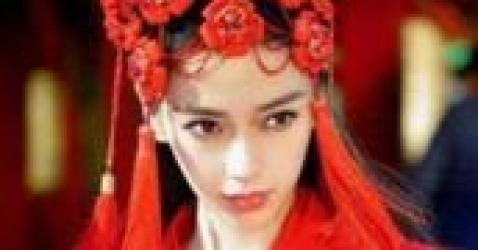 女星古装红衣造型,杨幂杨颖刘亦菲赵丽颖郑爽佟丽娅谁最美