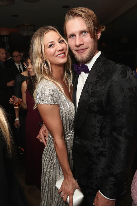 Kaley Cuoco Just Revealed That She Doesn't Live with Husband Karl Cook