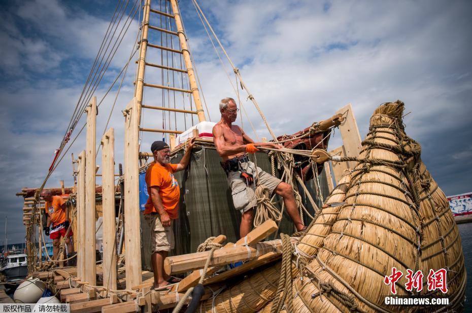 一考察队开启1300公里航行 验证古代海上贸易路线假想