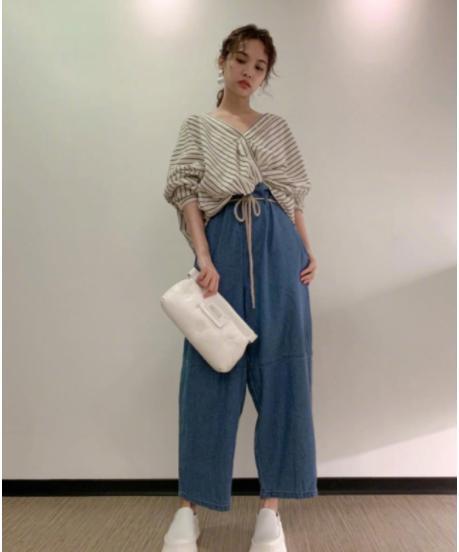 """有种""""纸袋裤""""叫杨丞琳,看到她穿法后,网友:说18都有人相信"""
