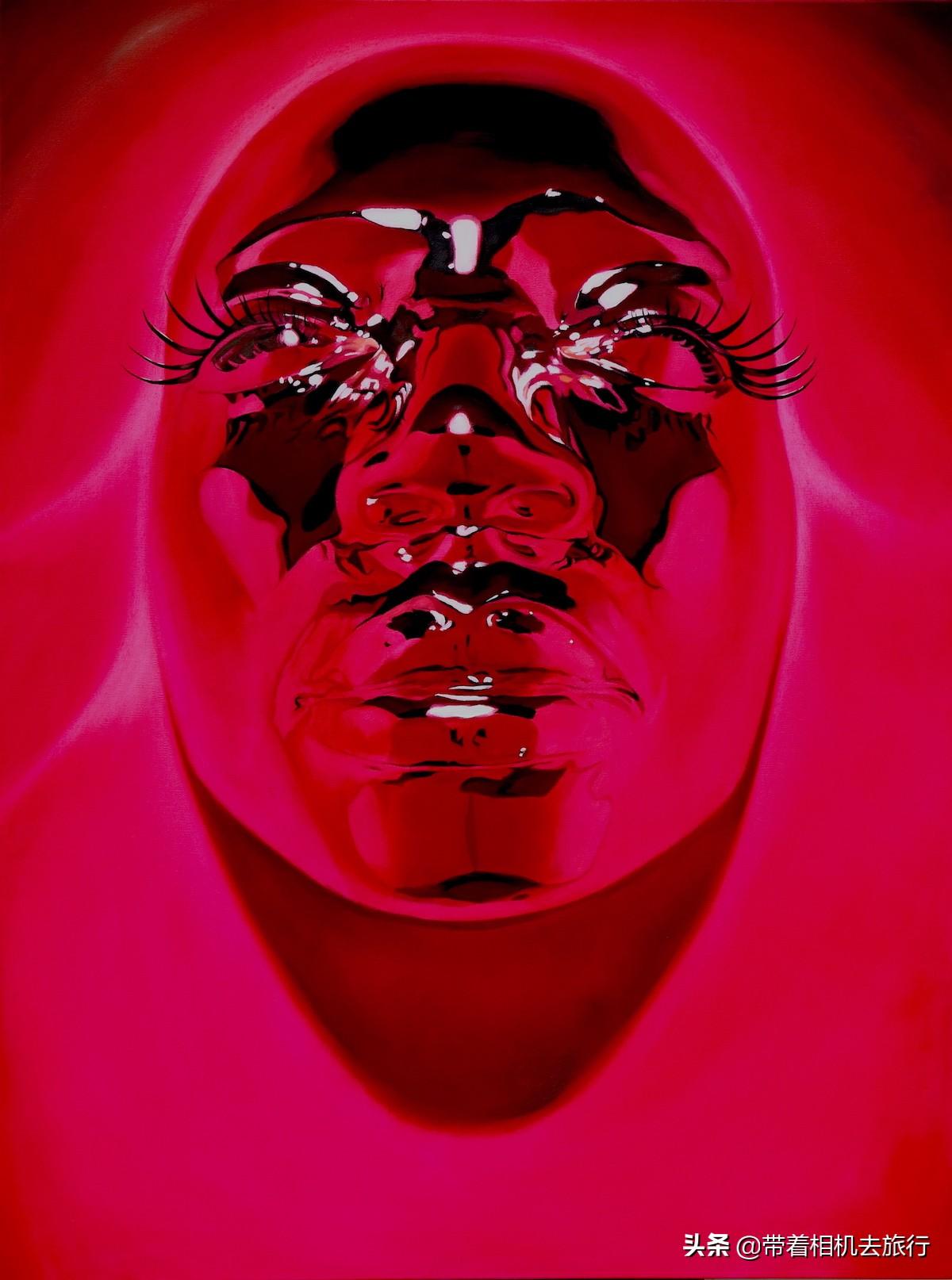 """""""欺骗""""你的眼:他用各种方法制作出""""立体""""面具"""