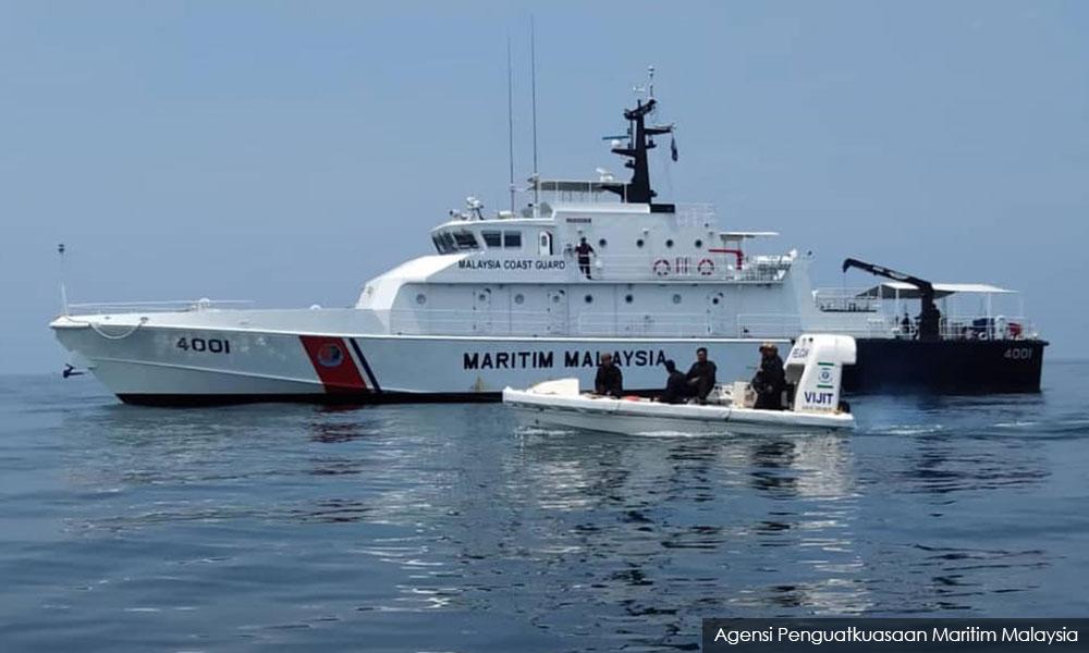 Maritime agency chases away Vietnamese enforcement vessel