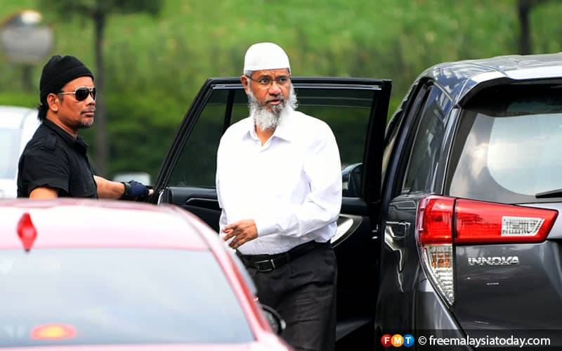 Cops to call 5 men to assist in probe over Zakir Naik's report