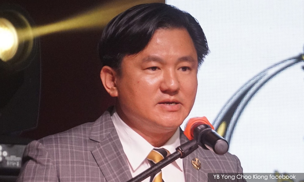 Lawyer urges Perak MB to suspend Paul Yong from exco duties