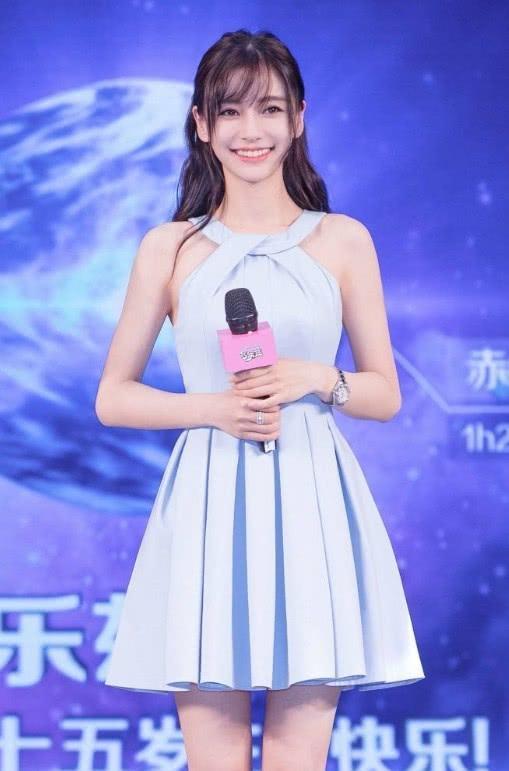 杨颖录制《遇见天坛》,现场生图被疯传,网友:还会在粉她吗?