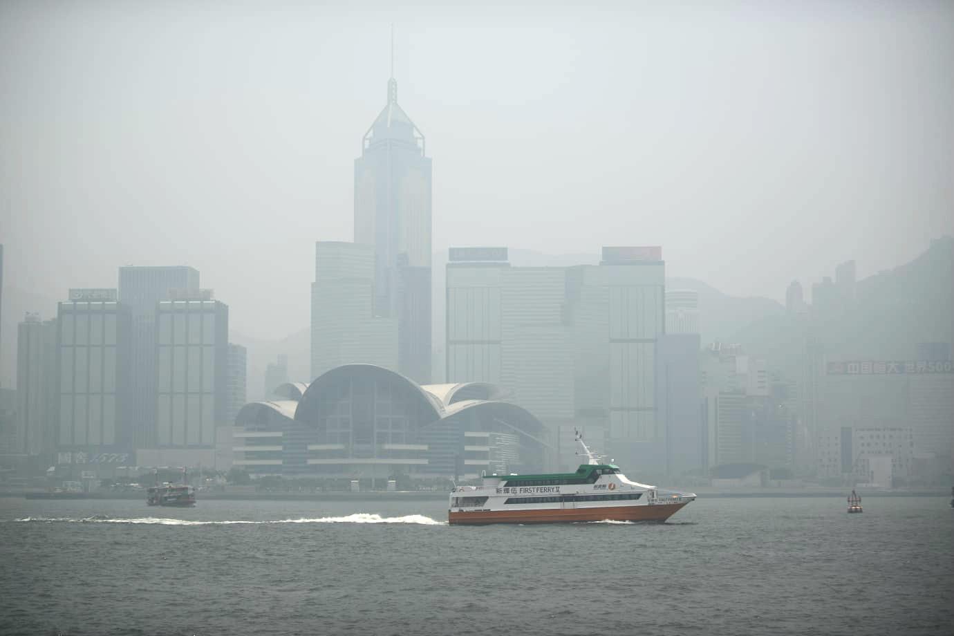 【避免外出】东涌元朗屯门指数「爆表」 全港空气污染达甚高