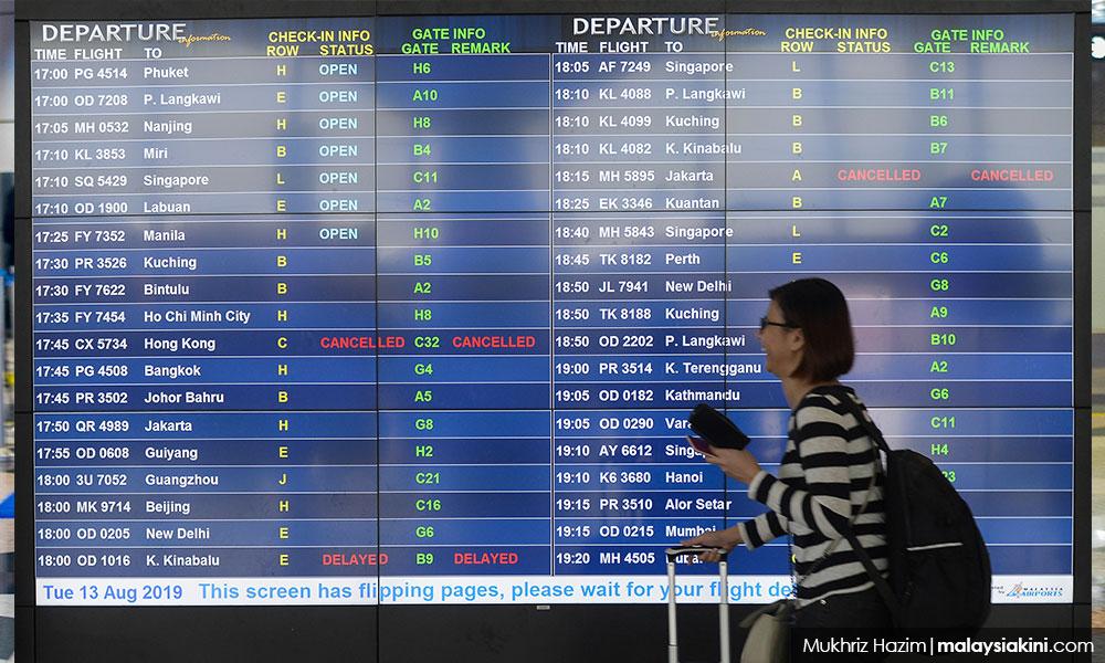 除KLIA,长途国际航班机场税降至50元