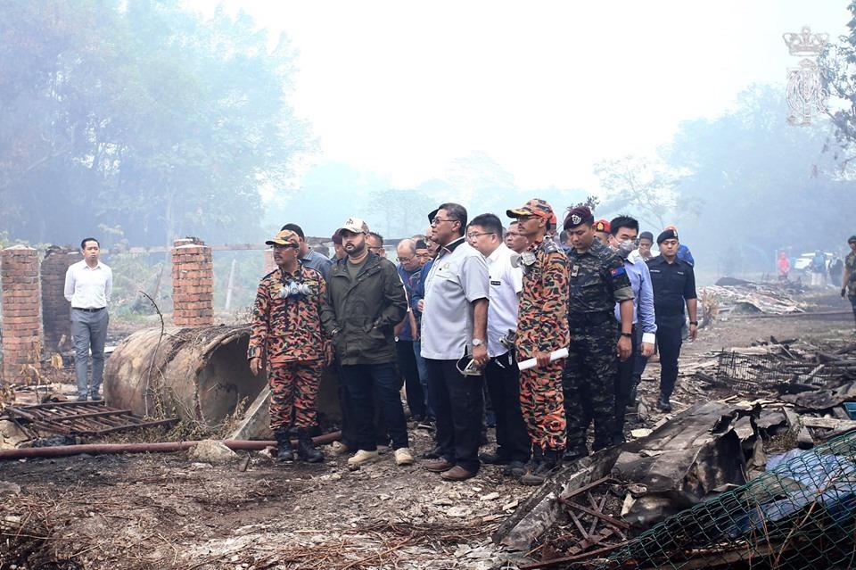 振林山区林火持续延烧 临近2校或停课
