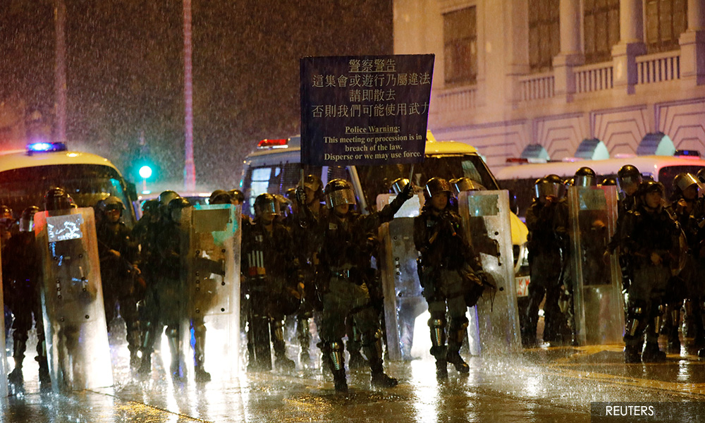 No need yet for HK to use emergency powers: senior official