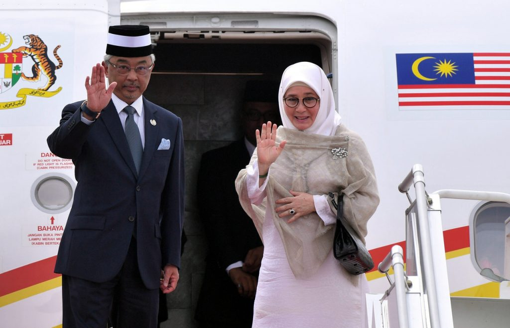 King on 4-day visit to Indonesia