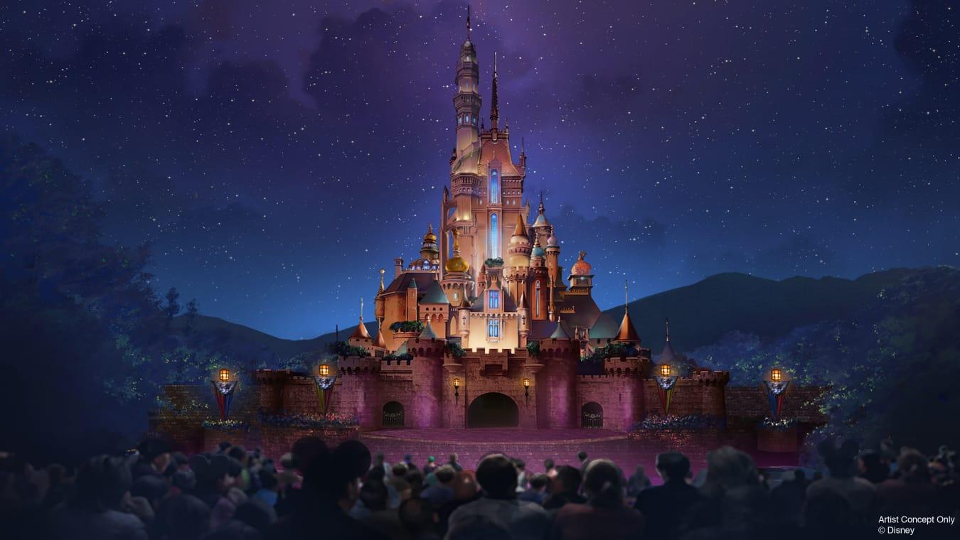 迪士尼城堡2020年登场 重现多个经典公主故事