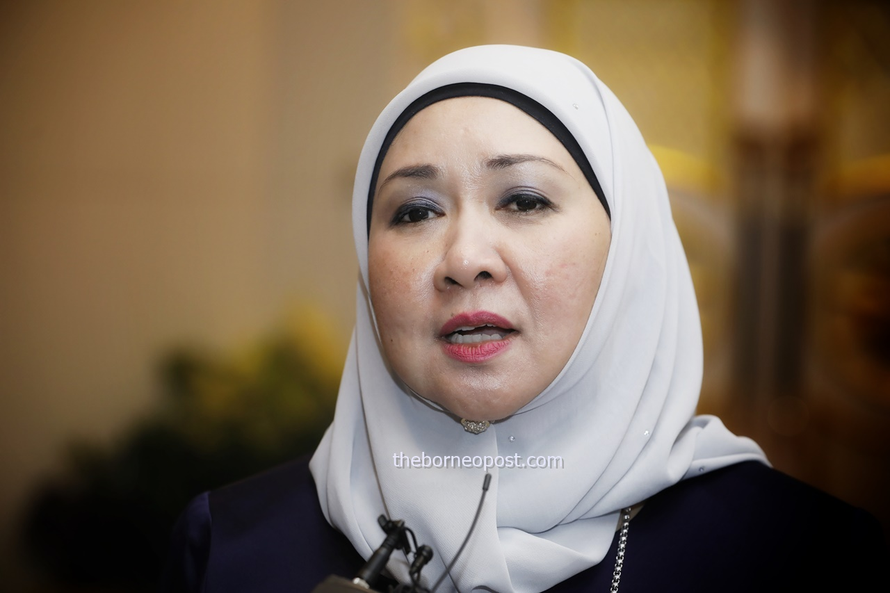 Sharifah Hasidah to Ali: Explain how GPS govt made it difficult for Putrajaya to implement projects in S'wak