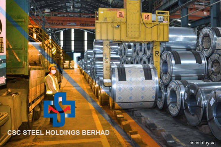 CSC Steel's prospects improving: TA Securities