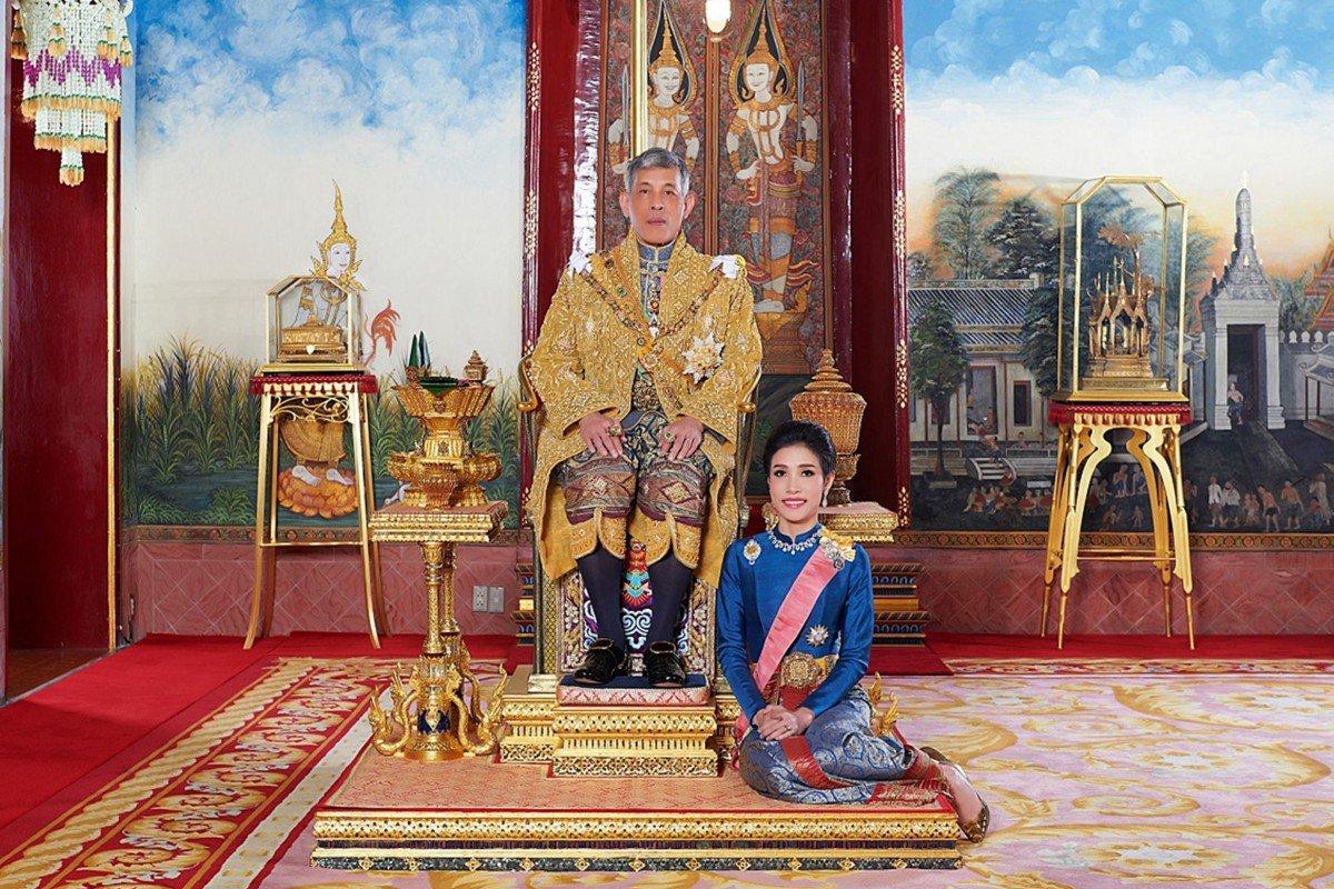 Thai palace releases rare images of King Maha Vajiralongkorn's royal consort Sineenat Wongvajirapakdi