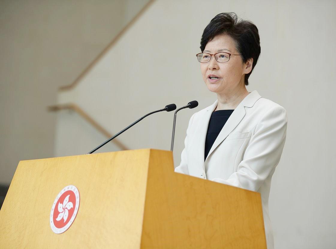 香港民研:林郑支持率净值负59百分点 创歷任特首新低