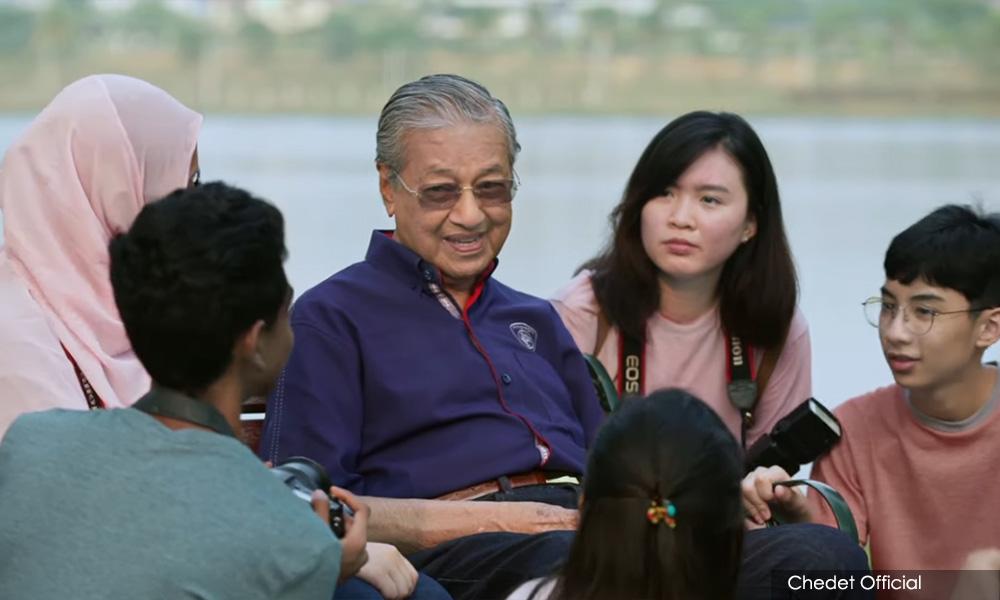 抨极端分子炒作情绪,马哈迪吁媒体别闻风起舞