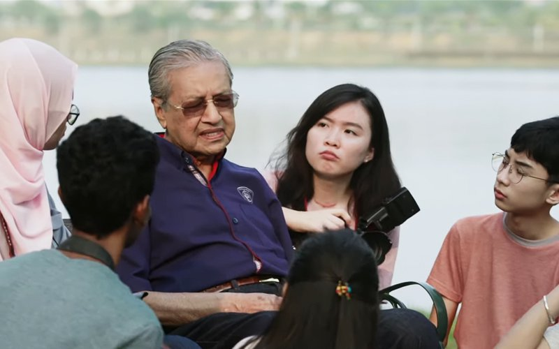 In Merdeka video, Dr M warns against hurting racial ties