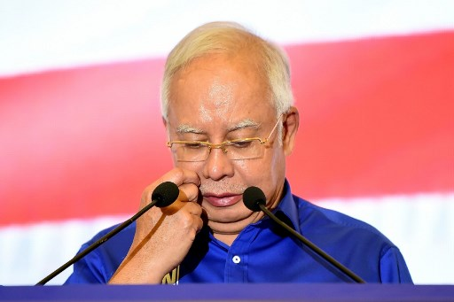 Najib in shockat having to enter defence oncorruption charges