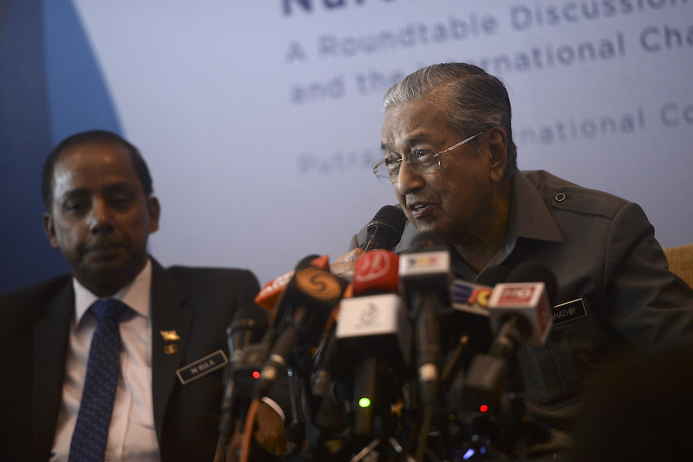 Dr M wants Malaysian fishermen to increase catch to reduce foreign poachers