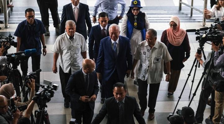 Ex-Malaysia PM Najib Razak faces court for biggest 1MDB corruption trial